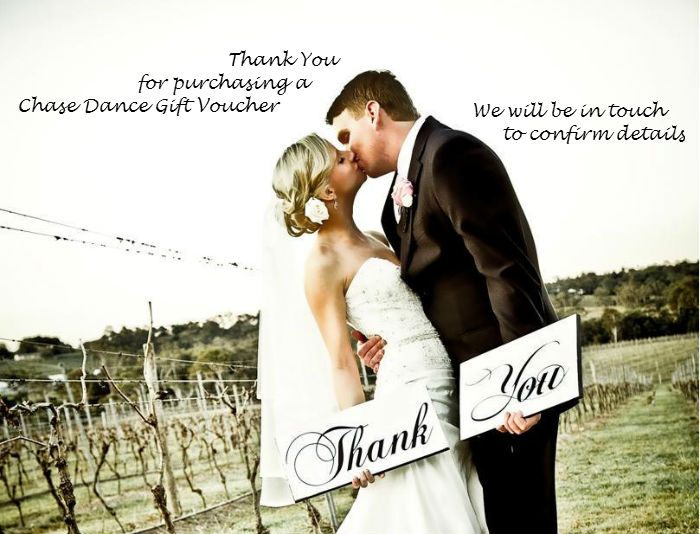 Thank You Wedding Dance Lessons